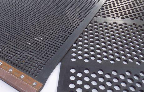 rubber screens